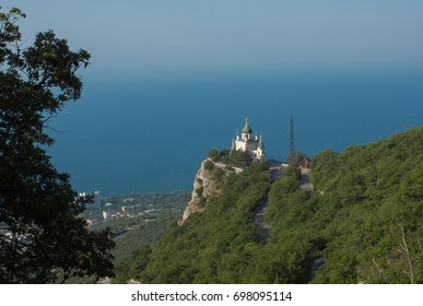 Church of the Resurrection of Christ in Foros in the Crimea.