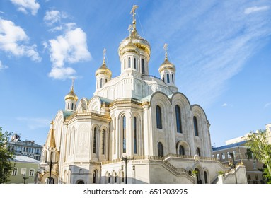 Church of the Resurrection of Christ and the New Martyrs and Confessors of the Russian Church in Sretensky Monastery in Moscow