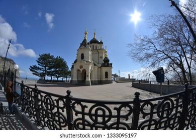 Church of the Resurrection. Foros. Crimea.