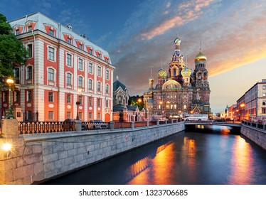 Church of the Resurrection (Savior on Spilled Blood). St. Petersburg, Russia