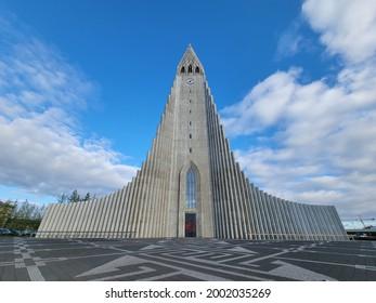 Church of Hallgrímur (Hallgrímskirkja) - Reykjavik Iceland tourist attraction, capital city landmark