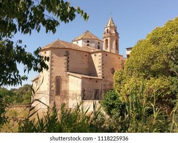 Church of  Riera de Gaià, Catalonia, Spain