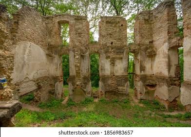 church ruins wall, Slovakia