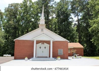 Church in rural Georgia