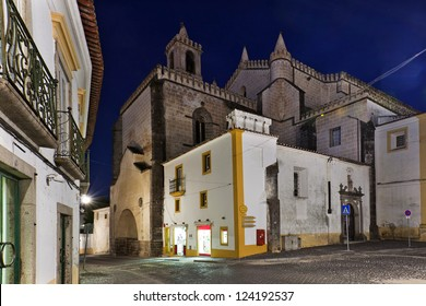 Church of S. Francisco, Evora, Portugal, Europe