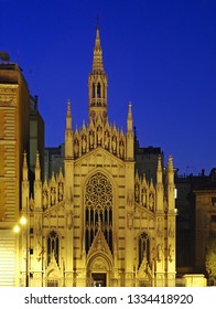 Church of the Sacred Heart in Suffragio Suffrage. Rome. Italy