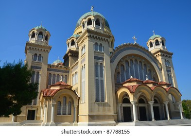 Church of Saint Andrew in Patras Greece