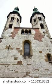 church of Saint Andrzeja Apostola in Cracow,Poland