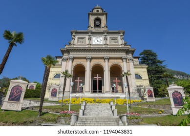 The church of Saint Cosma and Damiano at Mendrisio on the italian part of Switzerland