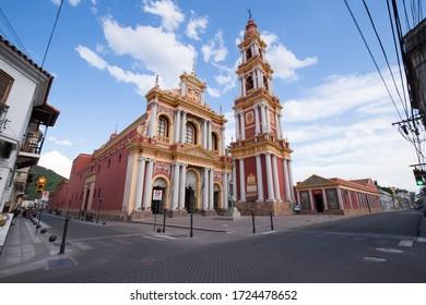 Church of Saint Francis, Salta. Salta, Argentina - November, 2019