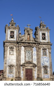Church of Saint Ildefonso on Batalha Square in Porto. Porto, Norte, Portugal.