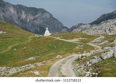 Church of Saint Ilija in Moraca Mountains, Montenegro