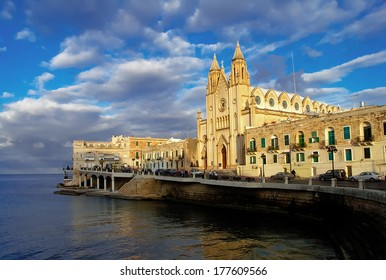 Church of Saint Julian's, Balluta Bay, Malta