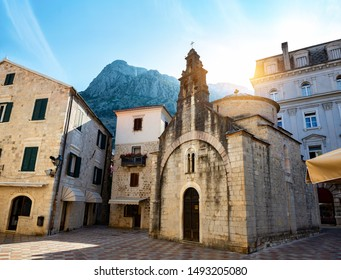 Church of saint Luke in the old town of Kotor