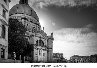 Church Saint Mary of Health in beautiful city Venice