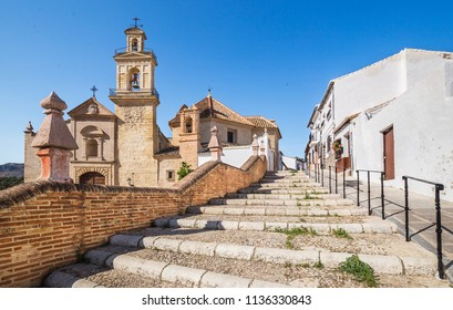 """Church of """"Saint Mary of Jesus"""" in Antequera, Andalusia, Spain."""