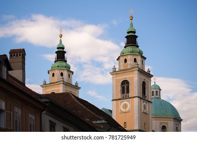 Church of Saint Nicholas in Ljubljana, Slovenia