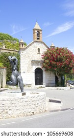 Church in Saint Paul de Vence, French Riviera
