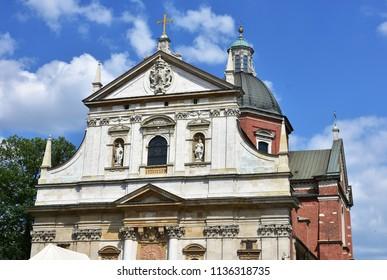 Church of Saint Piotra i Pawla in Cracow,Poland