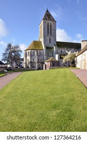 Church of Saint Samson of Ouistreham, commune in the Calvados department in the Basse-Normandie region in northwestern France.