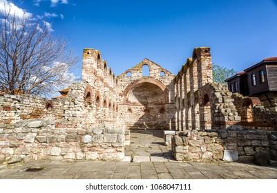 The Church of Saint Sofia in ancient city of Nessebar, Bulgaria