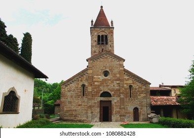 Church Saint'Egidio in Fontanella, Lombardy, Italy - First Romanesque building