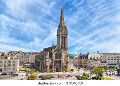 Church of Saint-Pierre in Caen, Normandy, France