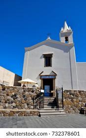 church of Saints Cosma and Damiano Lipari  Eolie Sicily Italy