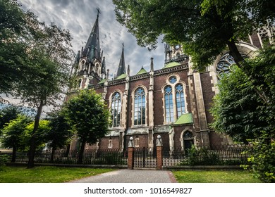 Church of saints olga and elizabeth in Lviv (Ukraine)