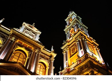 Church in Salta province, North Argentina