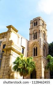 The church of San Cataldo in Sicilian city of Palermo