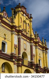 Church in San Cristobal de las Casa, Chiapas, Mexico