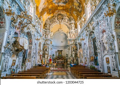 Church of San Francesco in Mazara del Vallo, town in the province of Trapani, Sicily, southern Italy. July-04-2018