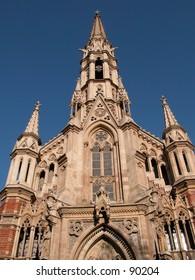 The church of San Francisco de Sales in Barcelona, Spain