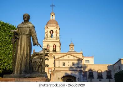 Church of San Francisco in Queretaro, Mexico