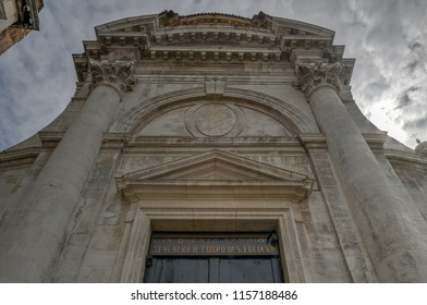 The church of San Geremia on the Grand Canal in Venice.