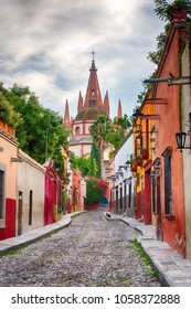 church in San Miguel de Allende