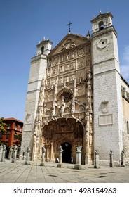 Church of San Pablo XV-XVII centuries in Valladolid, Castilla y Leon, Spain
