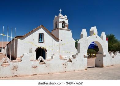 Church of San Pedro de Atacama, Chile.