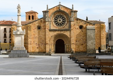 Church of San Pedro Apóstol de Avila (Spain)