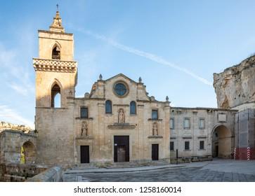 Church of San Pietro, Sasso Caveoso, Matera, Basilicata, Italy