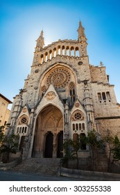 The church of Sant Bartomeu (Saint Bartholomew) in Soller, Majorca, Spain