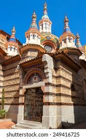 Church of Sant Roma in Lloret de Mar. Girona province, Catalonia, Spain