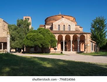 Church Santa María Asunta de Torcello, Venice, Italy