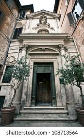 The church of Santa Barbara in Rome, Italy.