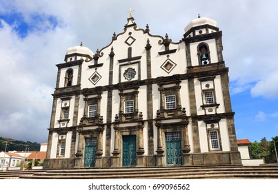 Church of Santa Cruz, Island of Flores, Azores, Portugal
