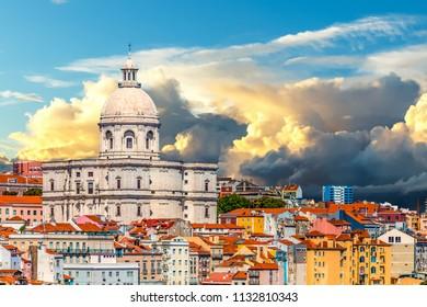 Church of Santa Engracia in Lisbon