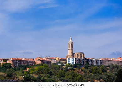 Church of Santa Eulalia S. XV.Esparreguera is famous in Catalonia for staging a grand version of the play Life and Passion of Jesus Christ every year in March and April, on the Sundays before and