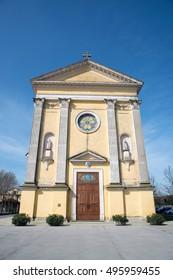 Church of Santa Margherita (St. Margaret)  in Campodoro (PD), Italy