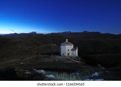 Church of Santa Maria della Pietà Rocca Calascio Abruzzo